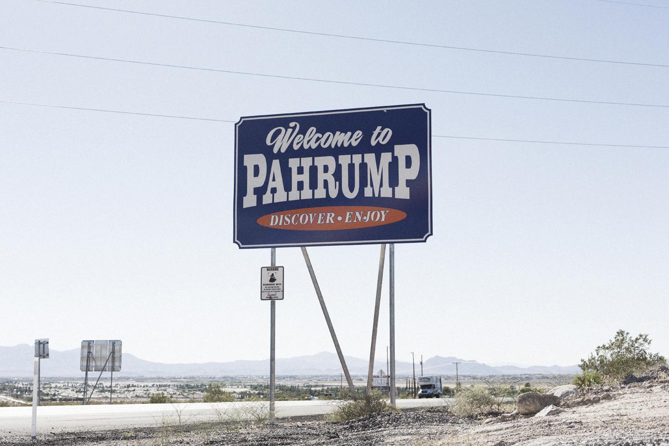 La ville de Pharump, dans le Nevada © Yann Stofer